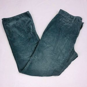 GAP Pants 16 Gray Casual Modern Boot Velour QK57